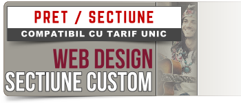 Web66 Design | Price/Section Custom Section Web Design